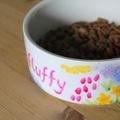 Personalised Meadow Flowers Dog Bowl 5