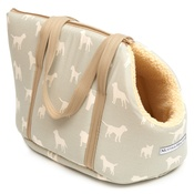 Mutts & Hounds - Powder Blue Dog Carrier