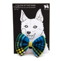 Shuka Blue Dog Bow Tie 2