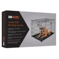 RAC Metal Fold Flat Crate