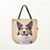 DekumDekum - Jingles the Border Collie Dog Bag