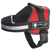 Cool Dog Club - Cool Dog K9 Trek Harness in Red