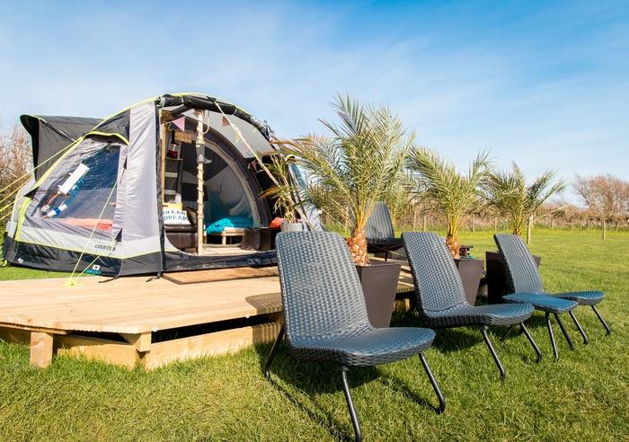 Llangennith Scamper Holidays - Camper Air-Tent, Swansea 1