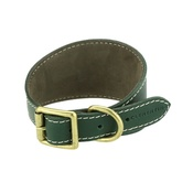 Clementine est. Dogs - Russell collar - Green