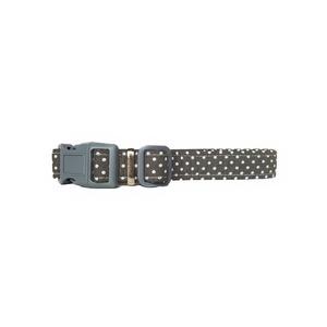 Grey Spot Dog Collar