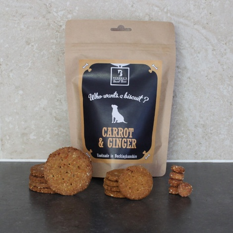 Carrot & Ginger Dog Treat Biscuits