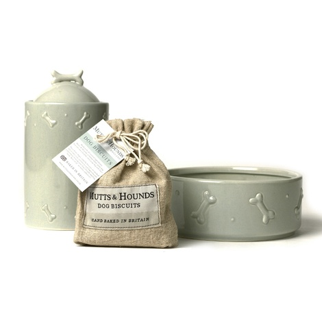 Ceramic Biscuit Jar - Sage Green 2
