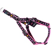 Hem & Boo - Pink Paws & Bones Dog Harness