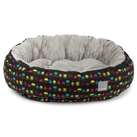 Space Raiders Reversible Dog Bed 4