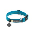 Hoopie Dog Collar - Baja Blue