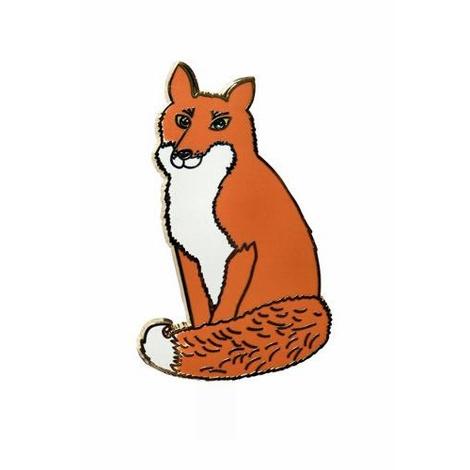 Mr Fox Brooch