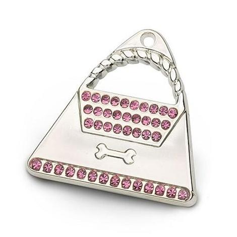 Silver Handbag Tag