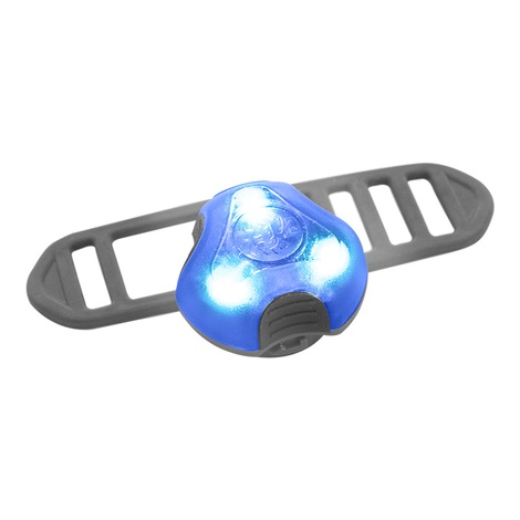 Rigel Multi-Purpose LED Light for Dog Collar - Blue  3