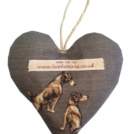 Jack Russell Lavender Heart