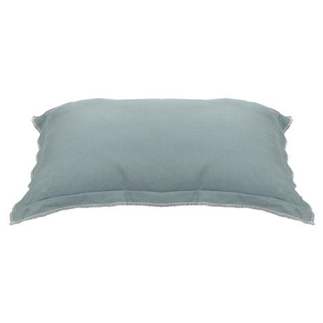 Kudos Kingston Knife Edge Pet Cushion in Duck Egg Blue