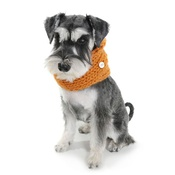 Edie & Reggie - Chunky Funky Snood Scarf - Orange