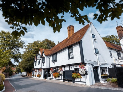 The Olde Bell Hotel, Berkshire, Hurley