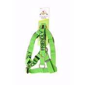 Friendly Pet Collars - Adjustable Green Friendly Harness