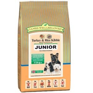 Junior Turkey & Rice Dog Food