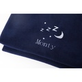 Personalised Navy Snooze Pet Blanket - Classic font 3