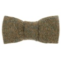 Forest Green Tweed Bow Tie 2