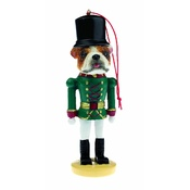 NFP - Bulldog Nutcracker Soldier Ornament