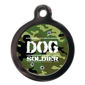 PS Pet Tags - Dog Soldier Pet ID Tag