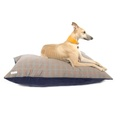 Personalised Brown Check Dog Doza Bed