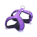 4cm Width Fleece Comfort Dog Harness – Purple