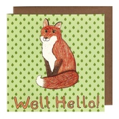 Kate Garey - Fox Card