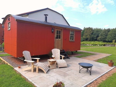 Shepherd's Hut, Parkway Hotel and Spa, Wales, Cwmbran