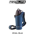 Steel Blue Water Bottle Sling Holder
