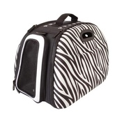 InnoPet - Collapsible Carrier Deluxe - Zebra Print