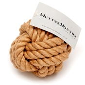 Mutts & Hounds - Rope Ball Natural