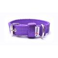 Double Dog Collar – Purple
