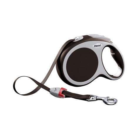 VARIO Large Retractable Lead 8m - Brown