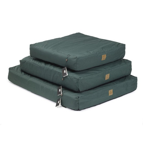 Green Water Resistant Deep Filled Dog Bed 2