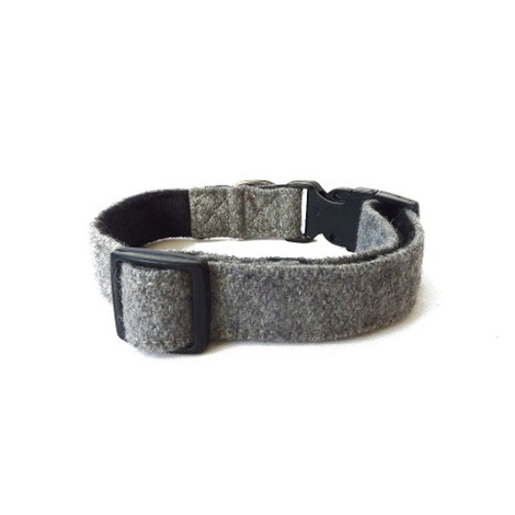 Wool Collar - Grey