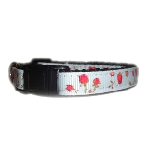 Vintage English Rose Small Dog/Puppy Collar