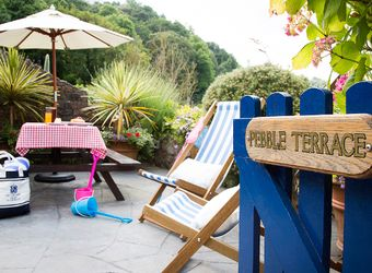 Pebble Suite at The Cary Arms, Devon