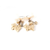 Dog & Dolls - Amelie Gold Earrings