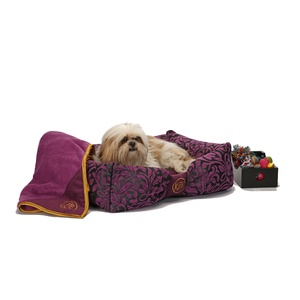 Attraction Dog Bed - Amethyst Chenille