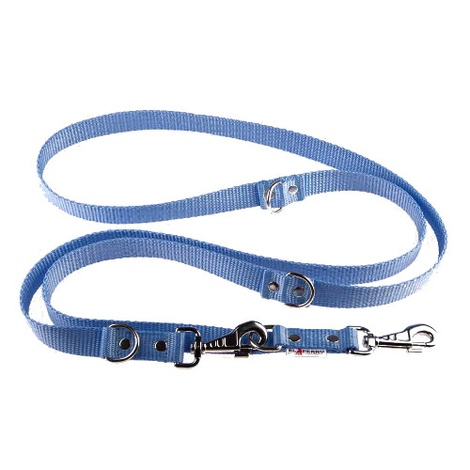 Adjustable Juicy Style Dog Lead - Baby Blue