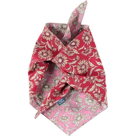 Daisy Dog Bandana – Pink & Red