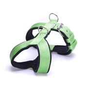 El Perro - 4cm Width Fleece Comfort Dog Harness – Lime