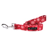 Ditsy Pet - Christmas Snowflake Dog Lead