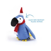 Beco Pets - Lucy the Parrot Squeaky Christmas Dog Toy