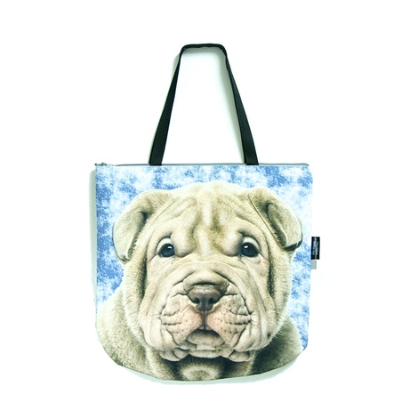 Leia the Shar Pei Dog Bag