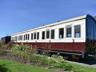 Railway Carriage Two, Suffolk, Brockford Green