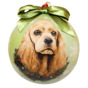 NFP - Cocker Spaniel Christmas Bauble